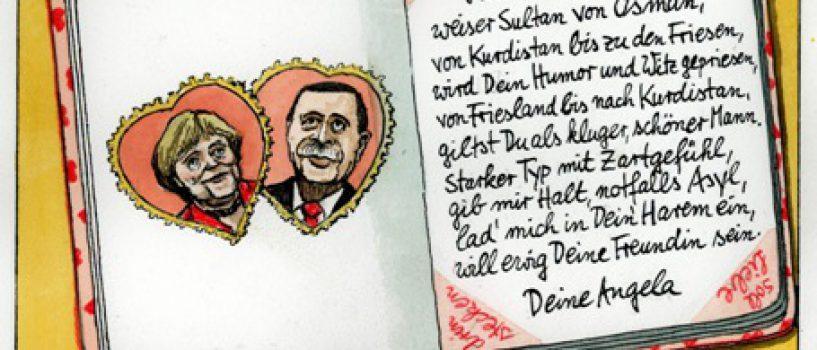 25.06. – 23.07.2017 | Greser & Lenz: Witze für Deutschland. Karikaturen