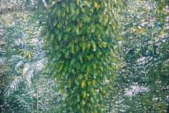 Selva en Pinar del Río 2, 2003, Öl auf Hartfaser, 30 x 34 cm, 800,- mit Rh.