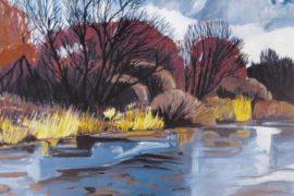 11.–12.01.2019 (ausgebucht) | Kurs: Malen einer (Winter-) Landschaft
