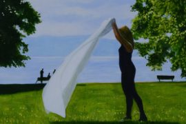 17.03. – 09.04.2017 | Andreas Scholz: Am Wasser. Landschaftsmalerei